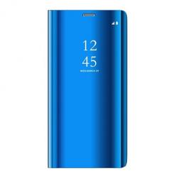 Etui na Samsung Galaxy S9 - Flip Clear View z klapką - Niebieski.