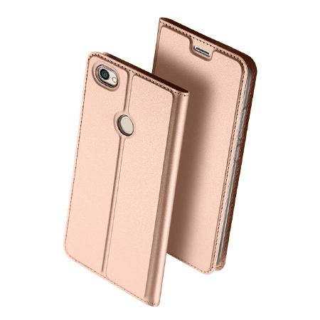 Etui na Xiaomi Redmi Note 5A Prime - magnet pro skin  - Różowy.