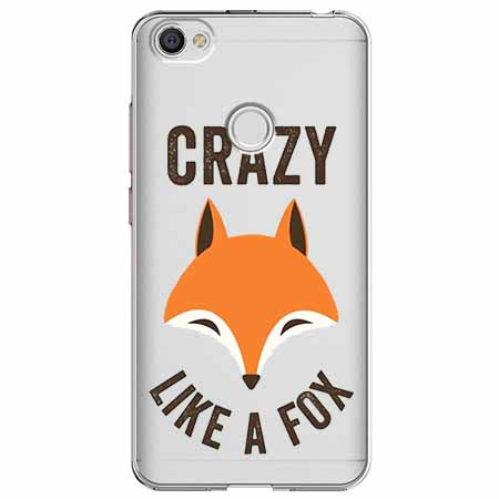 Etui na Xiaomi Note 5A Prime - Crazy like a fox.