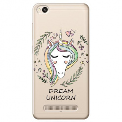 Etui na Xiaomi Redmi 5A - Dream unicorn - Jednorożec.