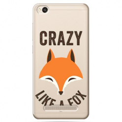 Etui na Xiaomi Redmi 5A - Crazy like a fox.