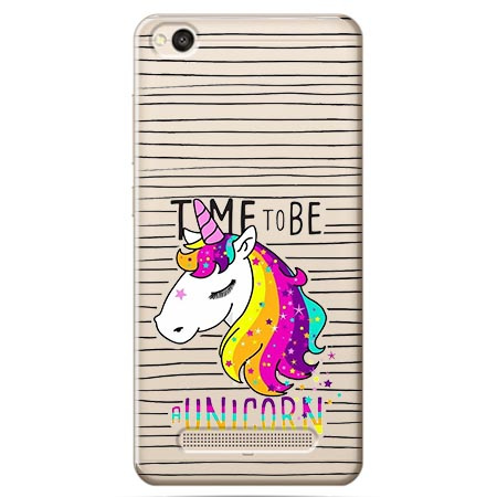 Etui na Xiaomi Redmi 5A - Time to be unicorn - Jednorożec.