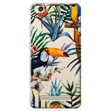 Etui na Xiaomi Redmi 5A - Egzotyczne tukany.