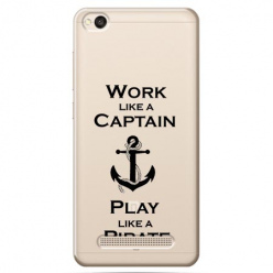 Etui na Xiaomi Redmi 5A - Work like a Captain…