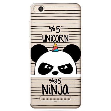 Etui na Xiaomi Redmi 5A - Ninja Unicorn - Jednorożec.