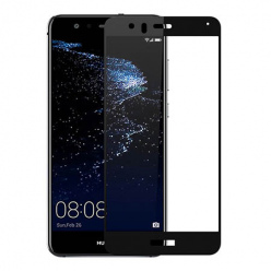 Huawei P10 Lite hartowane szkło 5D Full Glue - Czarny.
