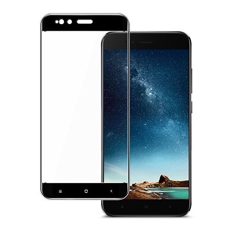 Xiaomi Mi 5X - hartowane szkło 5D na cały ekran - Czarny.