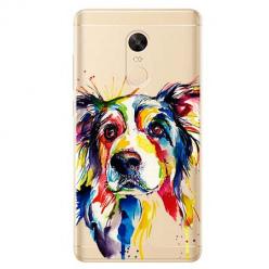 Etui na Xiaomi Redmi 5 Plus - Watercolor pies.