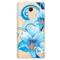 Etui na Xiaomi Redmi 5 Plus - Niebieski kwiat północy.