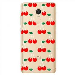 Etui na Xiaomi Redmi 5 Plus - Wiśniowa plejada.