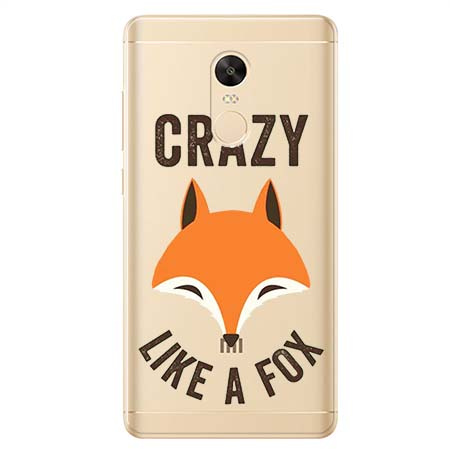 Etui na Xiaomi Redmi 5 Plus - Crazy like a fox.