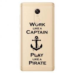Etui na Xiaomi Redmi 5 Plus - Work like a Captain…