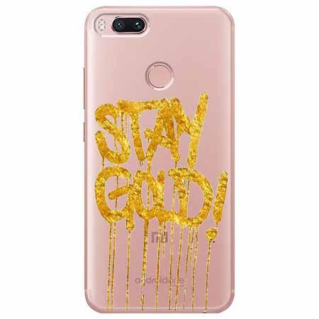 Etui na Xiaomi Mi 5x - Stay Gold.