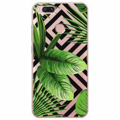 Etui na Xiaomi Mi 5x - Egzotyczne liście bananowca.