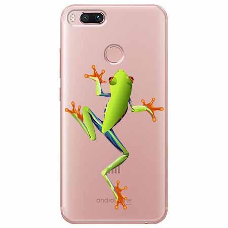 Etui na Xiaomi Mi A1 - Zielona żabka.