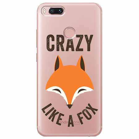 Etui na Xiaomi Mi A1 - Crazy like a fox.