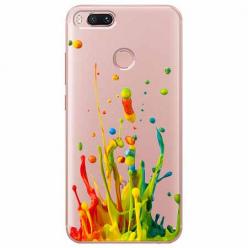 Etui na Xiaomi Mi A1 - Kolorowy splash.