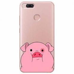 Etui na Xiaomi Mi A1 - Słodka różowa świnka.