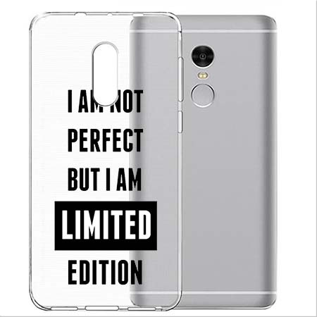 Etui na Xiaomi Note 4 Pro - I Am not perfect…