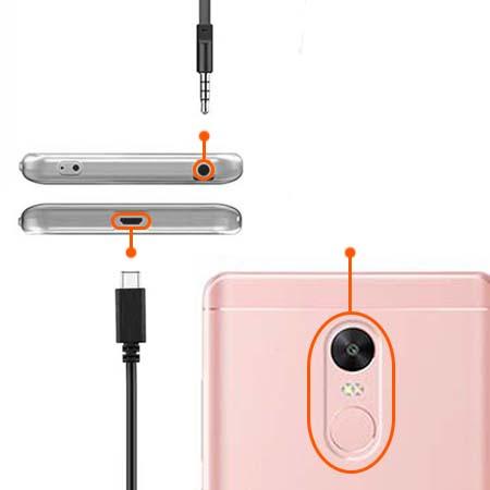 Etui na Xiaomi Note 4 Pro - Podniebne jednorożce.