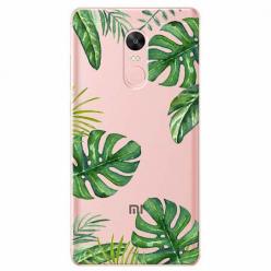 Etui na Xiaomi Note 4 Pro - Egzotyczne roślina monstera.