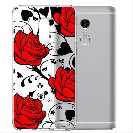 Etui na Xiaomi Note 4 Pro - Czerwone róże.
