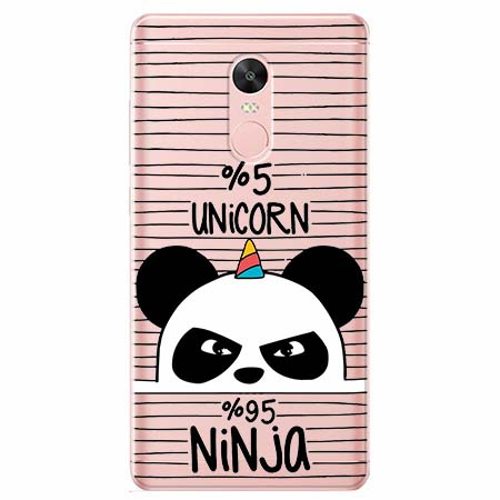 Etui na Xiaomi Note 4 Pro - Ninja Unicorn - Jednorożec.