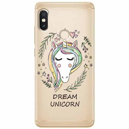 Etui na Xiaomi Note 5 Pro - Dream unicorn - Jednorożec.
