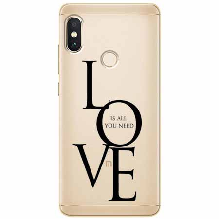 Etui na Xiaomi Note 5 Pro - All you need is LOVE.