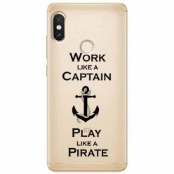 Etui na Xiaomi Note 5 Pro - Work like a Captain…