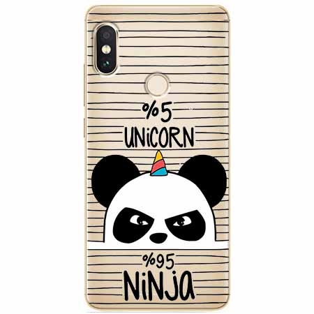 Etui na Xiaomi Note 5 Pro - Ninja Unicorn - Jednorożec.