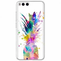 Etui na Xiaomi Mi 6 - Watercolor ananasowa eksplozja.