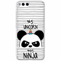 Etui na Xiaomi Mi 6 - Ninja Unicorn - Jednorożec.