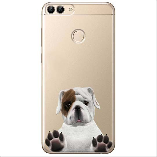 Etui na Huawei P Smart - Słodki szczeniaczek.