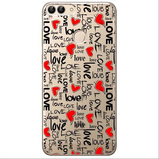 Etui na Huawei P Smart - Love, love, love…