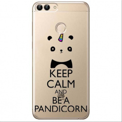 Etui na Huawei P Smart - Keep Calm… Pandicorn.