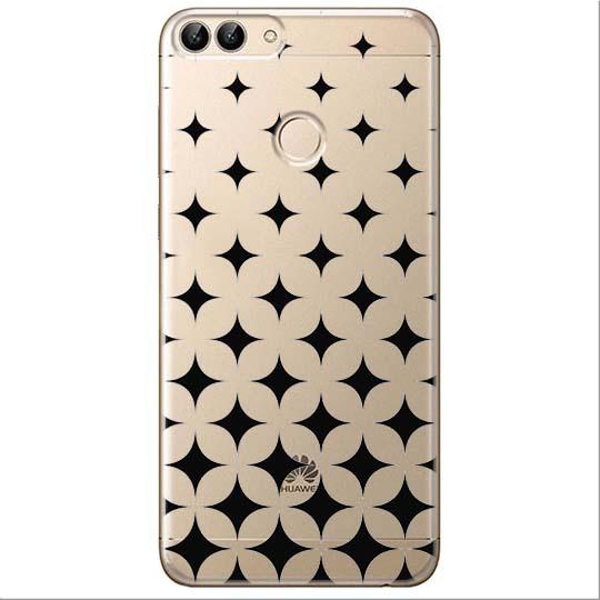 Etui na Huawei P Smart - Diamentowy gradient.