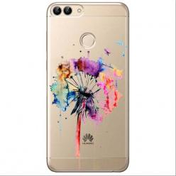 Etui na Huawei P Smart - Watercolor dmuchawiec.