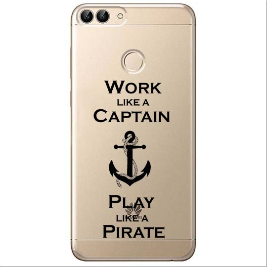 Etui na Huawei P Smart - Work like a Captain…