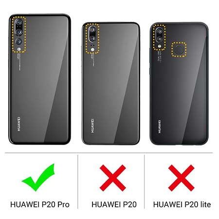 Etui na Huawei P20 Pro - Tęczowe jednorożce.