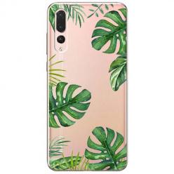 Etui na Huawei P20 Pro - Egzotyczna roślina Monstera.