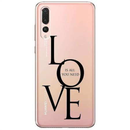 Etui na Huawei P20 Pro - All you need is LOVE.
