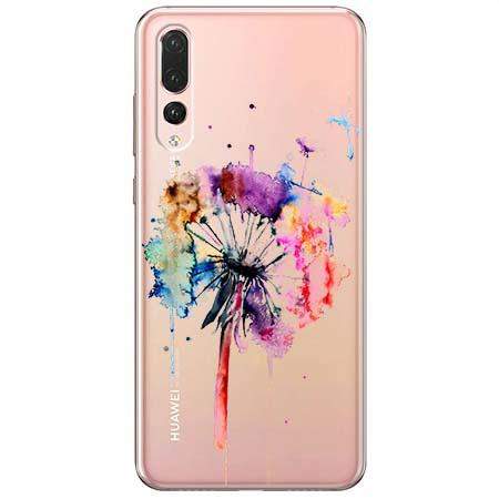 Etui na Huawei P20 Pro - Watercolor dmuchawiec.