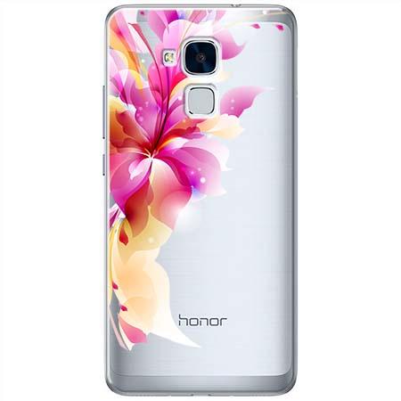 Etui na Huawei Honor 7 Lite - Bajeczny kwiat.