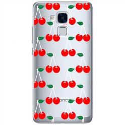 Etui na Huawei Honor 7 Lite - Wiśniowa plejada.