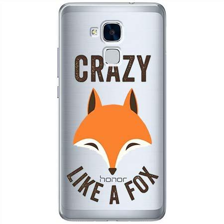 Etui na Huawei Honor 7 Lite - Crazy like a fox.
