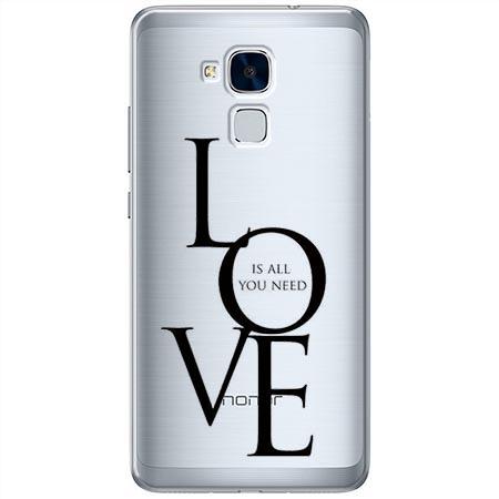 Etui na Huawei Honor 7 Lite - All you need is LOVE.