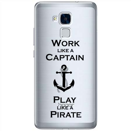Etui na Huawei Honor 7 Lite - Work like a Captain…