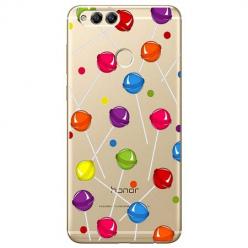 Etui na Huawei Honor 7X - Kolorowe lizaki.
