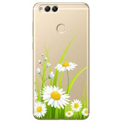 Etui na Huawei Honor 7X - Polne stokrotki.